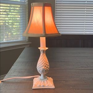 Accent lamp, 13 inches with shade